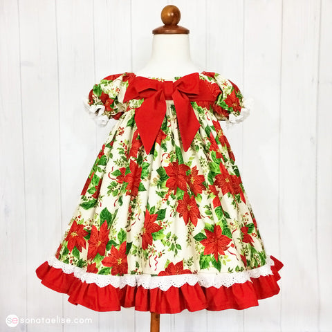 A Happy Christmas Toddler Dress