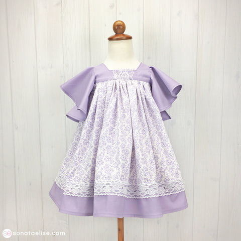 April Lavender Spring Dress