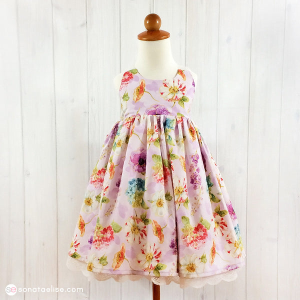 Summer Bouquet Floral Dress