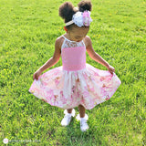 Flower Fairy Toddler Dress