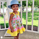 Flamingo Holiday Toddler Girl Summer Dress