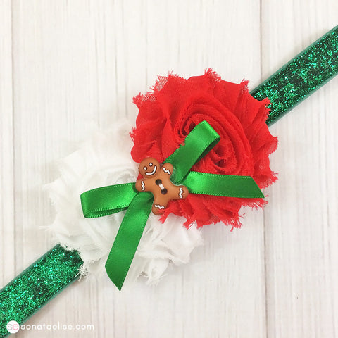 Christmas Cookie Baby Headband