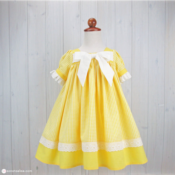 June Yellow Spring Dress