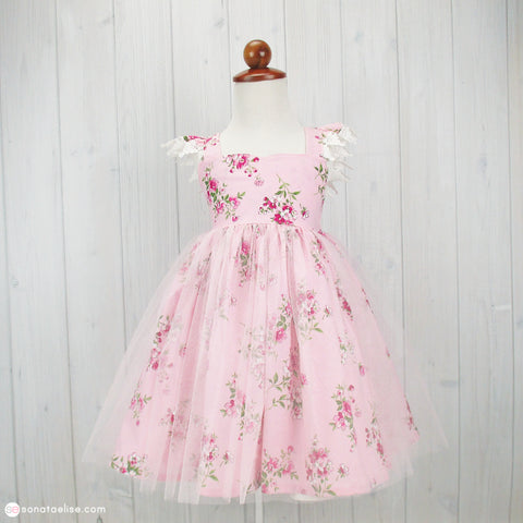 *PRE-ORDER* May Pink Spring Dress