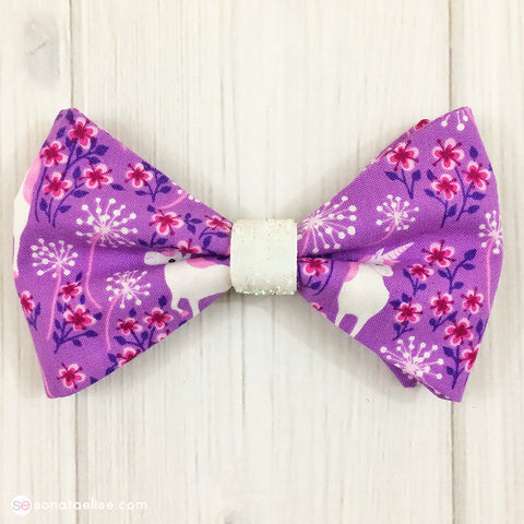 Pretty Unicorns Hair Bow