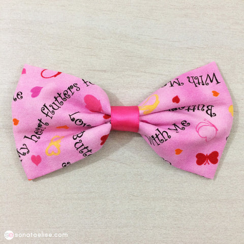 Valentine's Day Hair Bow