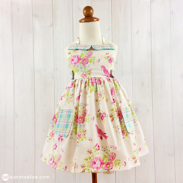Toddler Spring Dress - Zoey's Garden