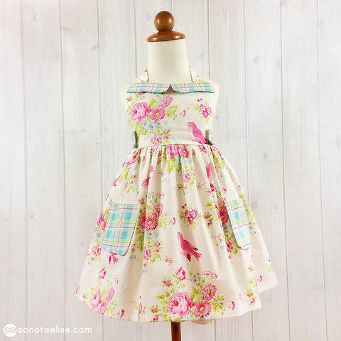 Zoey's Garden Toddler Girl Spring Dress