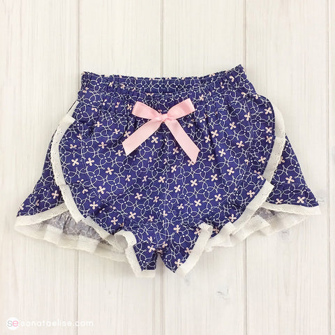 Toddler Ruffle Shorts - Lexi Shorts