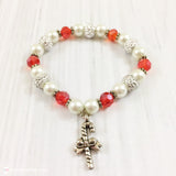 Christmas Candy Cane Toddler Bracelet