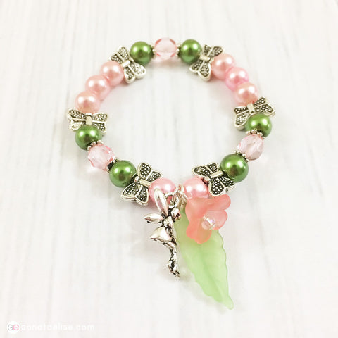 Flower Fairy Toddler Bracelet