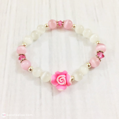 Toddler Girl Rose Bracelet