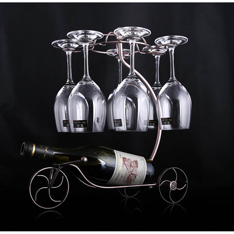 Decorative Tricycle Wine Rack - Lux Lane