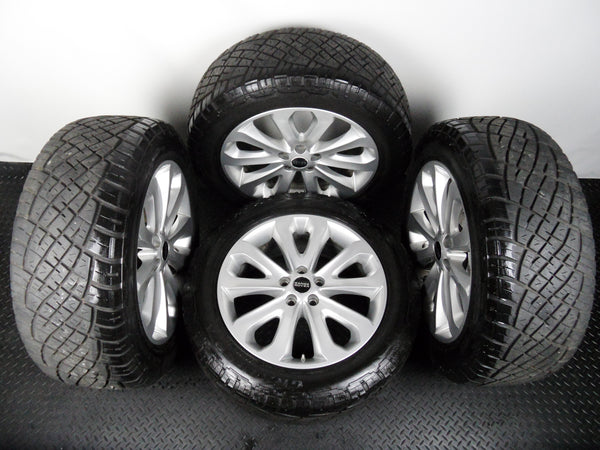 Range Rover 20 Inch Style 502 Alloy Wheels With General Grabber Tyres