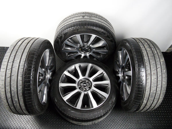 "Genuine 2016 OE Range Rover 21"" 101 Diamond Alloys Wheels With Pirelli Tyres"