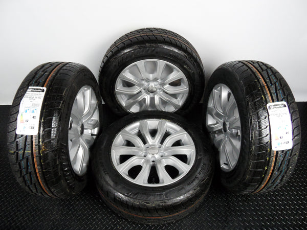 "Genuine OE 18"" Range Rover Evoque Style 11 Alloy Wheels With New Winter Tyres"