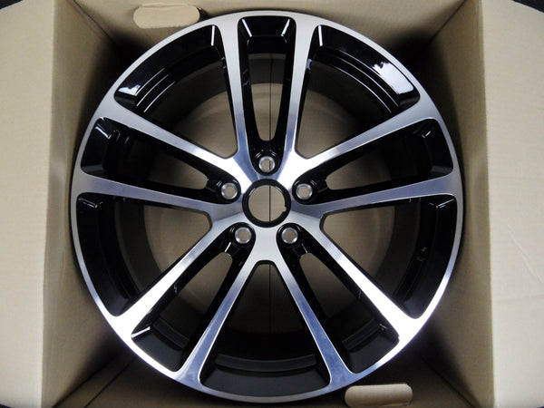 "Genuine Aston Martin 19"" DB9 'Carbon Black' Forged Alloy Wheels"