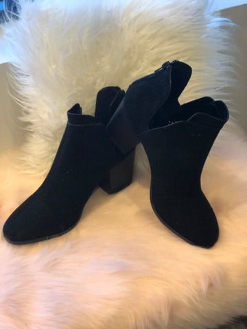 These Booties are Made for Walking in Black