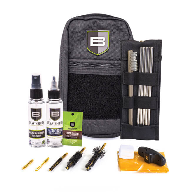 Breakthrough Clean Technologies - LOC-223 Rod Cleaning Kit - Black