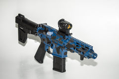 VT15 Executive AR Pistol / Custom Blue Camo