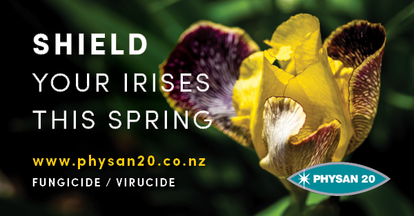 Shield your Irises this Spring!