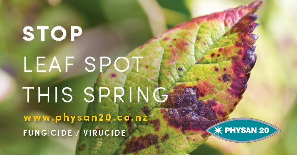 Prevent Leaf Spot on your Plants this Spring!