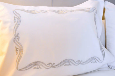 Ellise White Quilt Cover Set