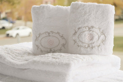 Blessings embroidered Bath Towels Set