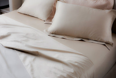 Champagne Egyptian Cotton Sheets (4 pieces set)