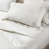 Off-white Egyptian Cotton flat sheet