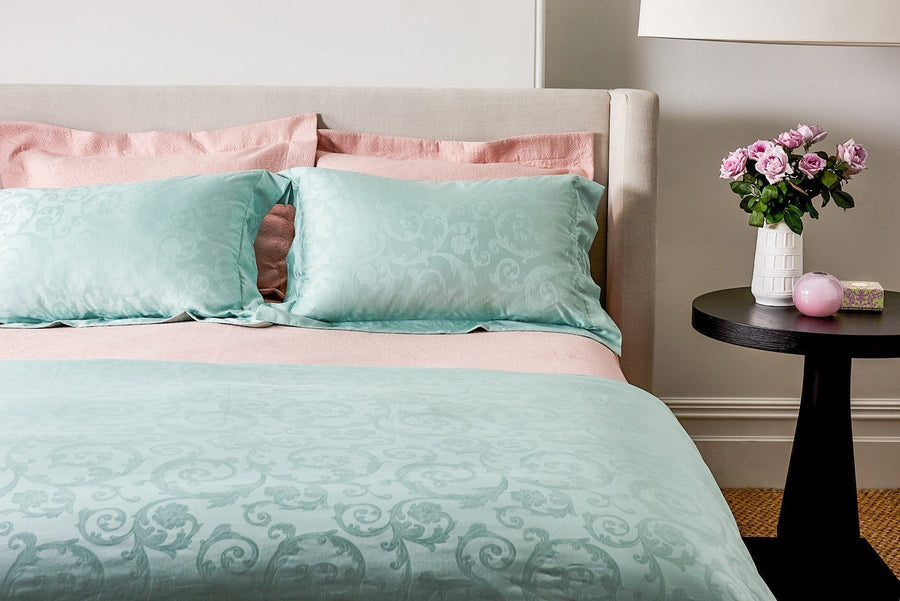 Mint Quilt Cover Set