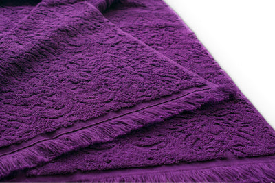 Egyptian Cotton Bath Towel Set 4 Pieces (100 x 50 cm Generously Sized)