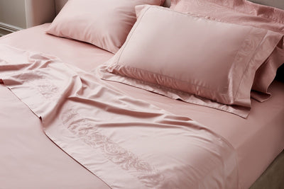 Pink Egyptian Cotton sheets