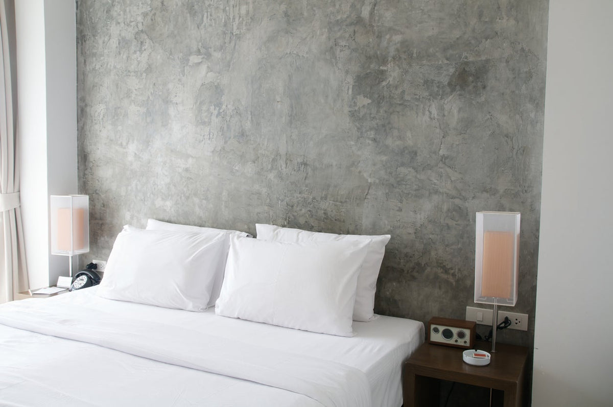 Minimalist White Egyptian Cotton Sheets