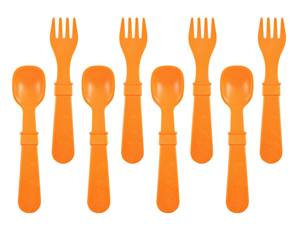 Re-Play Fork & Spoon Set (8 pieces)