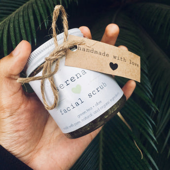 Serena | Green Tea & Aloe Face Scrub