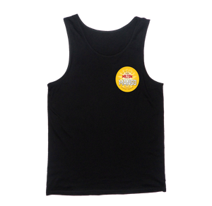 The Chalk Singlet Black