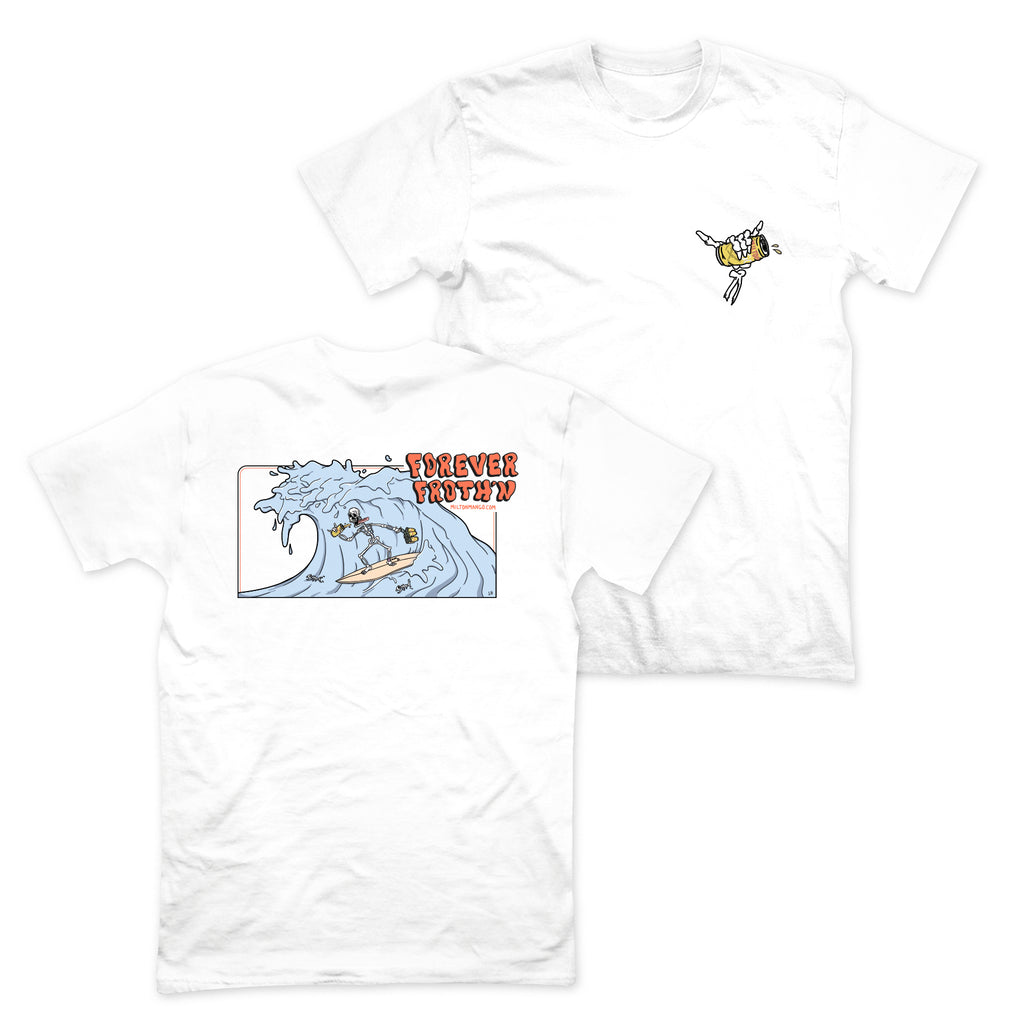 Forever Frothin Tee White