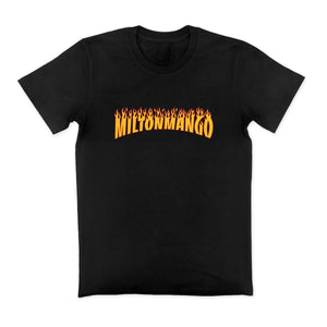 Thrashing Mangoes Tee Black