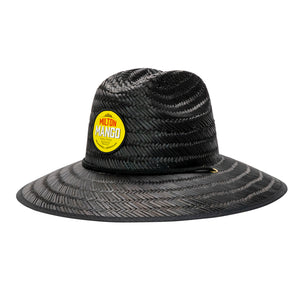 Black Fever Straw Hat