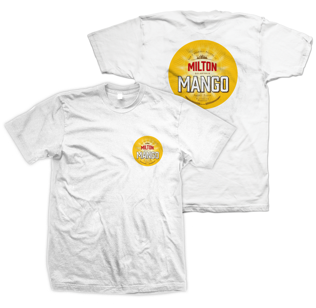 The Triffid Tee White