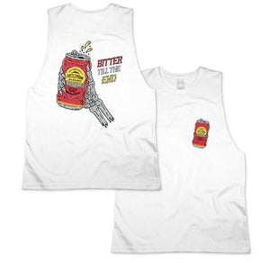 Bitter Muscle Tee White