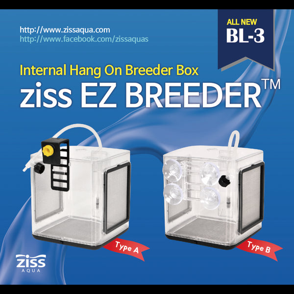 ZISS Breeding Box BL-3-Type A ( New Model ) - JagAquatics