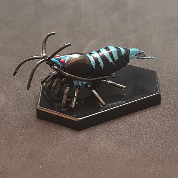 SHRIMP3D - Blue Based Black Zebra Pinto - Preorder before 7/1/2018