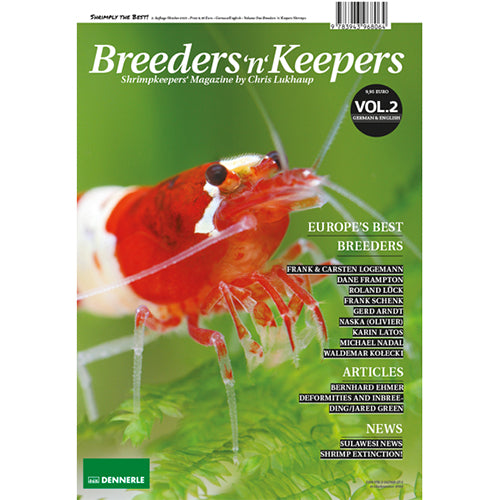Breeders N Keepers - Vol 2 - Shrimp Keeping Magazine - JagAquatics