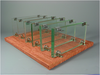 Cade - Cover Glass Supports 12mm