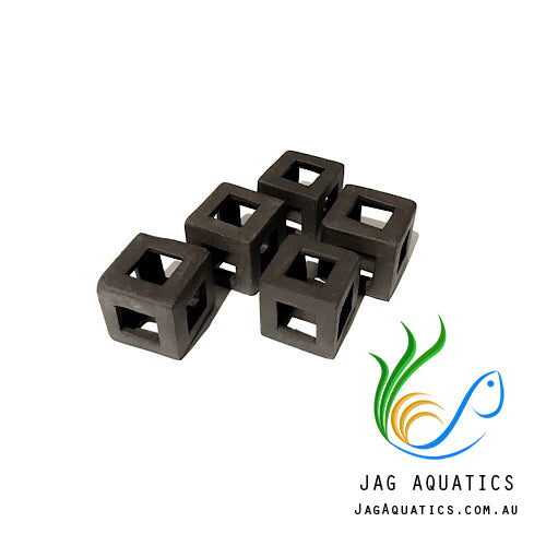 Jag Aquatics - Shrimp Block Shelters - Dark Brown ( Quantity 5 ) - JagAquatics