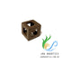 Jag Aquatics - Shrimp Block Shelter - Light Brown ( Quantity 1 ) - JagAquatics