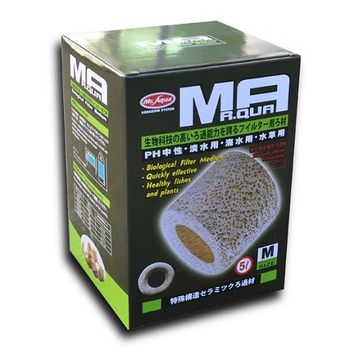 Mr Aqua Porous Ceramic Rings 5L Medium 15x15mm - JagAquatics