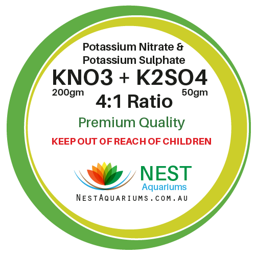 NEST - Potassium Nitrate mix with Potassium Sulphate - Dry Aquarium Fertilizers - 250g - JagAquatics